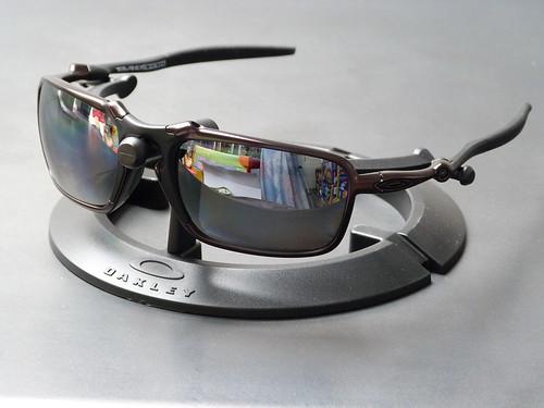 78eec4d75a Oakley Badman™ Dark Carbon w Black Iridium Polarized - a photo on ...