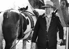 Transport (tobymeg) Tags: county horse man hat beard cheval farming amish lancaster