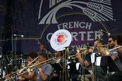 The New Orleans Jazz Orchestra at French Quarter Fest 2015 Day 3, April 11