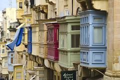 Malta (drasphotography) Tags: street travel windows architecture republic fenster malta architektur reise valletta drasphotography