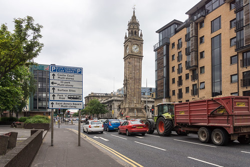 ALBERT MEMORIAL CLOCK IN BELFAST -102913