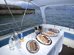 Lake Tours aperitivo a bordo
