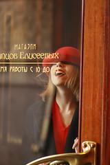 (ekaterina_shevchenko) Tags: red lady bright centre nevsky pasion frenchwoman