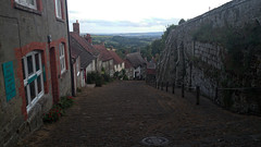 La colina (sucamon21) Tags: inglaterra summer england hill colina vacaciones shaftesbury goldhill lacolina