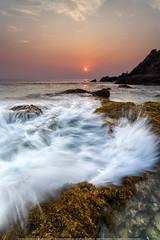 Splash wave (ExposureDDD) Tags: seascape flick karbi flicker boonchetchotmail boonchetcyahoocom