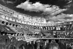 was not build in a day (paddy_bb) Tags: travel italien sky italy rome landscape cityscape ngc amphitheatre colosseum neuseeland 2015 nikond5300 paddybb