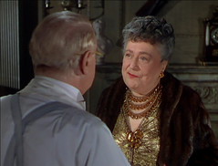 no title (annacarvergay) Tags: brown fashion vintage gold evening necklace pin dress brooch formal namethatfilm unnamed characteractress florencebates