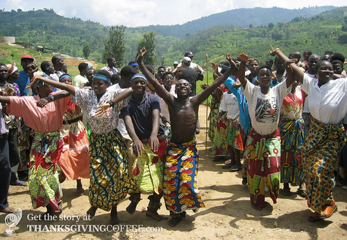 Traditional Harvest Dance in Rwanda