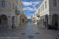 Eleftheriou Venizelou street, Ermoupolis (Garnham Photography) Tags: street architecture greek greece greekislands cyclades cycladic syra syros traveldestinations ermoupolis siros hermoupolis builtstructure eleftheriouvenizeloustreet