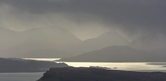 Passing Through (BingleymanPhotos) Tags: light storm mountains skye rain weather clouds scotland dramatic hills