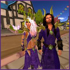 Exploring Bright Haven (scarlettelizabet) Tags: hair king purple ad indigo queen elf fantasy blonde warrior seeker ff elven brighthaven elmir analogdog fantasyfaire adrae wasabipills advenures feylinefashions fantasyfaire2016 elmirah