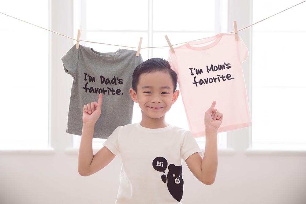 兒童文字設計品牌服飾plenty