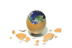 how the earth was formed (brescia, italy) (bloodybee) Tags: world stilllife food fun globe break earth humor shell crack planet eggs astronomy bigbang 365project