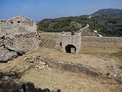 Corfu, Castel San Angelo (Angelokastro) (nikosgr) Tags: castle nature landscape stonework hill medieval historic greece corfu fortress byzantine castelsanangelo angelokastro   nikonphotography     nikon7000