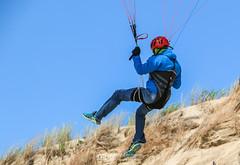 IMG_9242 (Laurent Merle) Tags: beach fly outdoor dune cte vol paragliding soaring ozone plage parapente atlantique ocan glisse littlecloud spiruline