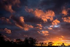 Coucher de soleil / Sunset - Valognes (christian_lemale) Tags: sunset sky france clouds soleil nikon coucher ciel nuages coucherdesoleil cotentin valognes d7100
