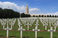 Military cemetery and memorial of Douaumont (Meuse) (Sokleine) Tags: france heritage history cemetery memorial wwi crosses graves histoiredefrance 55 greatwar lorraine tombs necropolis meuse 1418 croix cimetire verdun tombes douaumont grandest ncropole grandeguerre