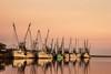 Shrimp Boats (EML.photography) Tags: sunset georgia coast shrimp brunswick marsh southgeorgia darien shrimpboats altamahariver