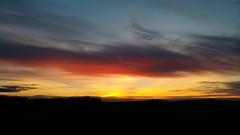 An evening with colorful sky (millhashim) Tags: travel ireland sunset sky nature beauty colorful kildare