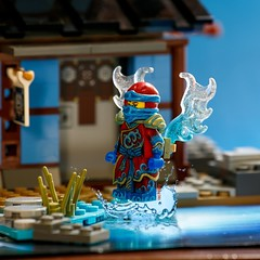 Nya the Water Ninja (adria1223) Tags: lego ninja custom nya legominifigure legofigure legoninja legocustom ninjago legoninjago legoninjagonya waterninja legoninjagocustom ninjagocustom nyathewaterninja ninjagonya