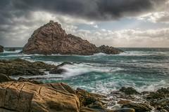 A stormy sugarloaf rock (jamesfultonphotography) Tags: seascape southwest westernaustralia sugarloafrock