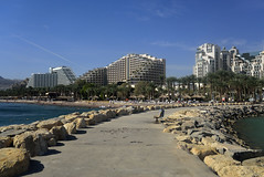 Eilat (Gabriel Sperandio) Tags: sea mer praia beach gua see israel mar agua eau mare playa acqua plage eilat spiaggia gulfofaqaba golfodeaqaba