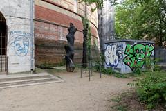 Fichtestrae, Berlin-Kreuzberg (Georg Kroemer) Tags: berlin kreuzberg graffiti kunst fichtebunker fichtestrase georgkroemerfotografie