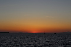 IMG_5244 (Ian.2020) Tags: sunset santorini caldera sky kamari sun aegean sea silhouette greece