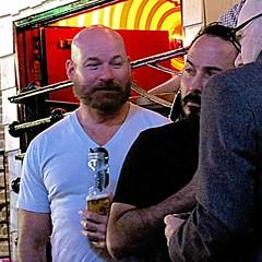 IMG_3058 (danimaniacs) Tags: man hot sexy guy beard bald hunk scruff busbys deaners