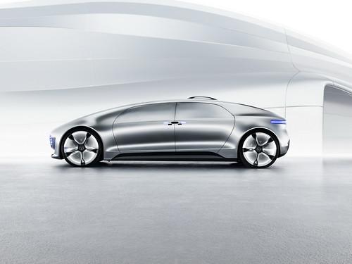 Mercedes-Benz F 015 Luxury in Motion