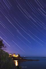 Dinard (bertrandlamy) Tags: longexposure sky seascape france les night stars photography long exposure bretagne astro ciel astrophotography roches toiles dinard nofilter astrophoto brunes canon40d