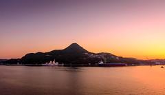 When the sun goes down.... (malc1702) Tags: sundown sunset sunlight port sasebo japan travel holiday cruise sunsetglow ocean water mountain glow orangeglow nikond7100 nikkor18140mm unlimitedphotos fantasticnature flickrunitedaward