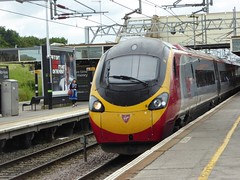 390136 arrives at Milton Keynes Central (4/7/16) (*ECMLexpress*) Tags: west coast central trains class virgin emu milton keynes 390 pendolino wcml 390136