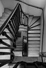 140/366 - Queen Anne Court (Spannarama) Tags: uk blackandwhite london stairs spiral greenwich steps may staircase stonesteps universityofgreenwich 366 oldroyalnavalcollege stonestaircase queenannecourt
