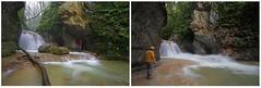 Avant et aprs l'orage du sicle (Guy Decreuse 25) Tags: canyon jura crue doubs eaux vives lison comt franche loue amondans
