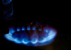 Hot! (Nicolas -) Tags: blue abstract hot cold macro sparkles fire gaz bleu flame burn brule burner flamme chaud feu tincelles abstrait hotcold nicolasthomas bruleur macromondays