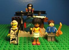 Lego Doctor Who Rock Band wip (Sarah-Mitt) Tags: lego doctorwho rockband