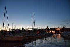 SummerNight (lucasangarola) Tags: boat yacht night summernight summer sunset sailingboat sea water france