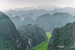 Mua Caves : Tam Coc Ninh Bing top of mountain (Yanis Ourabah) Tags: travel panorama mountain green tourism nature water stairs forest walking french asian pagoda nikon asia vietnamese dragon view rice lyon hiking walk top explorer scenic culture peak tourist hike traveller vietnam adventure explore caves d750 getty cave ricefield tam topview binh coc mua ninh yanis lyonnais tamcoc ourabah