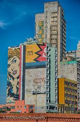 """Street art"" in Sao Paulo (RichHaig) Tags: brasil nikonafsnikkor2412014ged streetart richhaig saopaulo nikond800 building"