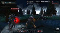 Giant Champion Against Zombie Warrior- Crowfall MMORPG Screenshot (JamesGoblin) Tags: crowfall mmo mmorpg pvp game gaming pc voxels vr virtual reality koster sandbox medieval fantasy gameofthrones eveonline eve entertainment fun computers cyberculture online crowdfunding kickstarter games onlinegames videogames voxel proceduralgeneration procedural virtualreality computer rpg poster art multiplayer surreal screenshot screenshots combat action fight knight actioncombat twitchcombat twitch screen legionnaire legionnaires sword motion attack defense defence wallpaper wallpapers posters swing fury furious armor plate heavyarmor enemy zombie zombies helm axe battleground giant gigantic