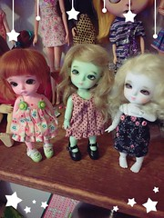 Little faces (LadyKat16) Tags: sophie kuroo coco bjd latiyellow latidoll lati
