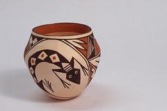 Native American Pot - Stacked (tedavisphotography) Tags: sonya65 corelpaintshoppro minoltalens closeuplens stacked nativeamerican pueblo pot pottery acoma newmexico navajo