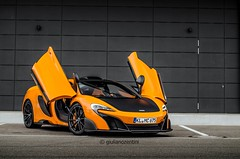Opened Wings! (Giuliano Zentini) Tags: mclaren 675 675lt lt longtail v8 orange british wings