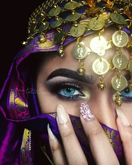 Dynasty 2 (eset is) Tags: jewelry makeup art culture photography blueeyes arab uae qatar bahrain saudiarabia yemen egypt desert nails women beauty morocco