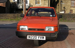 Reliant Robin Estate (Lawrence Peregrine-Trousers) Tags: reliant robin estate 3 wheeler autoshite ffffffffff red trike tricycle