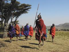 DSCN1271 (David Bygott) Tags: ngorongorocrater nca africa tanzania maasai misigiyo warrior moran dancing