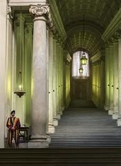 Scala Regia II (JWY80) Tags: rome roma scalaregia vatican stpeters sanpietro swissguard pope alexandervii italy italia columns stairs nikon nikkor d750