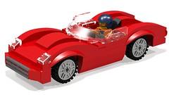 koda 1100 OHC (hajdekr) Tags: race speed automobile lego tricks help tips vehicle instructions manual tutorial racer racingcar assembly minifigure moc myowncreation howtowebsitecategory legodigitaldesignersoftware kodaautoautomobilecompany