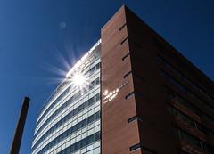 Bright Eye Centre (Jay:Dee) Tags: sun toronto reflection building photo walks district flare kensington shmatta topw topwksd